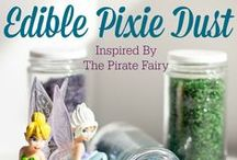 Disney The Pirate Fairy inspired food and party ideas  / A celebration and all things inspired by Disney's The Pirate Fairy movie. Great ideas for hosting a #PixieHollowParty or a little girls #PirateParty including #Recipes #Crafts and more fun!
