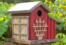 Best Nests / Bird houses and cozy nests
