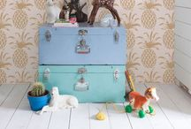 Kids Bedrooms / Children's bedroom inspiration, out of the ordinary, storage solutions too. Design inspiration for a child's room.  / by Amanda Cottingham