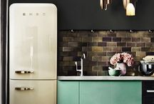 Kitchen Design / Looking at all the different designs of kitchens, modern, minimal, country, shaker and, clean line or bold brights.
