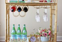 Bar Cart Creations / Every house should have a bar!