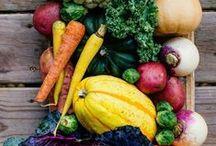 Légumes de saison / Recettes avec des légumes de saison Recipes with seasonal vegetables
