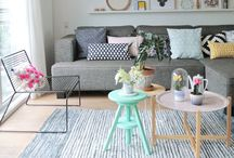 Pastel Spring Interior Inspiration / Thinking about spring I imagine pastel colours new beginnings.  This board brings the colours and feeling of spring to interiors, lots of inspirational posts and images.
