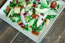 Salads salad salad / by Jennifer Lennon
