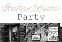 Italian Rustic birthday