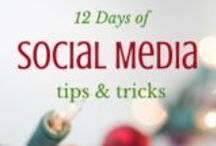 12 Days of Social Media tips and tricks