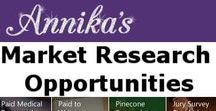 Market Research / Annika's / sign up for various panels via http://www.amylynn.org/home These are prizes, redemptions, gifts, etc dealing with Surveys, Focus Groups, Product Testing etc. #marketresearch #getpaidto #makemoney #savemoney #workfromhome