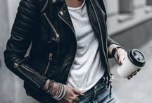 Black Biker Jacket Outfits / Read Related Post at http://www.aheadfullofpin.com/2016/09/amica-di-1000-autunni-black-biker-jacket.html