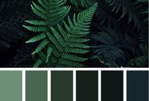 For the love of FERN GREEN / Greenary is the colour and so that's what interiors I'm pinning.  I always try to have boards that reflect colour wise, whats happening currently in the world of interiors.  So when 'Greenery' was announced I started to collect ideas.  I'm not a fan of a bright green so I've mainly concentrated on deep dark hues of green, with lots of plants, texture and mood inducing interiors.