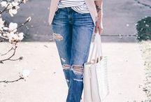 Boyfriend Jeans Style / Read related post at http://www.aheadfullofpin.com/2017/05/primavera-con-un-paio-di-boyfriend-jeans.html