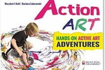 My Art Books Online / I've written 20+ books of art activities for kids. I'd love to compile online connections to all of them over time. Please help!