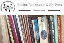 Books, bookcases & shelves / Books, bookcases, book shelving, book storages, books I love, books in home decor.