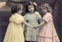 Three Sisters! / Bless you, my darling, and remember you are always in the heart - oh tucked so close there is no chance of escape - of your sister.  ~Katherine Mansfield