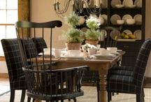 Country ~ Interiors / Rustic, Refined, Chic, Charm   / by Nancy Mamchur @ La Rouge Interiors
