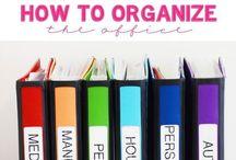 Organize / by Sammi Helton