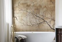 Bath & Powder ~ Rooms / by Nancy Mamchur @ La Rouge Interiors