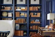 Home Office & Libraries / by Nancy Mamchur @ La Rouge Interiors