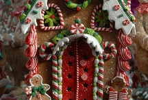 GINGERBREAD HOUSES / by Mary Jane Jones