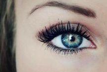 Beauty: Beautiful Eyes. / by Emilie Elkins
