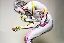 Body painting / by Gilmar Smith.