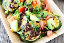 Paleo & Vegetarian Recipes / Eating healthy / by Erika Montealegre-Cruz