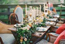 Dreamy bohemian wedding ideas