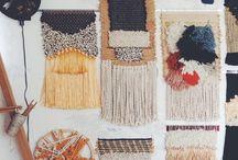DIY Weavings and Wall Hangings