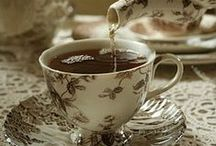 "tea / So I says ""My dear if you could give me a cup of tea to clear my muddle of a head I should better understand your affairs."" And we had the tea and the affairs too.... ~Charles Dickens, ""Mrs. Lirriper's Legacy"""