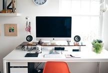 Interior Inspiration - At Work / by Grace-Made