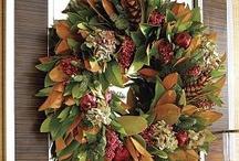 ~ Wreaths ~ / by ~ Debbie Vick ~