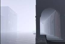 Venice / water and fog
