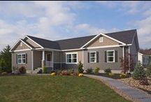 Thoroughbred Triple Crown / This model home is on display at our design center in Mifflinburg, Pennsylvania.