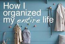 O R G A N I Z E . M E / I need help. Please organize me.