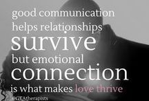 Communication isn't the problem & other relationship secrets / Being a couple can be hard- the ebb and flow of life and love takes persistence, love, and a little bit of expertise to navigate together.  www.grouptherapyassociates.com/conversations / by Group Therapy Associates