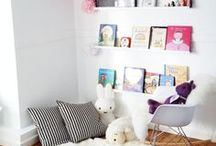 R E A D I N G . N O O K S / A quiet place for reading that encourages kids to read. Reading nooks, kids books, reading area for kids, cosy reading nook, children's reading area