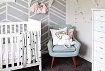 N U R S E R Y .  D E C O R / Baby room decor inspiration to help with planning your baby's nursery. Baby nursery, nursery design, baby room inspiration, toddler rooms, barnerom, babies rooms, baby bedrooms, design kids rooms, infant nursery