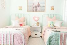 S H A R E D . R O O M S / Shared kids rooms, nursery and toddler room, boys and girls shared spaces, sisters room, brothers room, bunkbeds