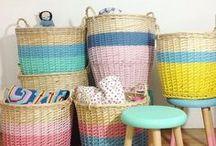 S T O R A G E / Nursery Storage, Toy Storage, Organizing the Nursery, Kids Room Storage Solutions