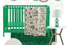 G R E E N E R Y . K I D S . R O O M / Pantone's color of the year 2017, greenery, pantone nursery, pantone greenery kids rooms, kids room ideas pantone
