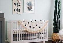 B O H O . N U R S E R Y / Boho nursery, boho kids room, boho nursery inspiration, tribal nursery, bohemian style baby room