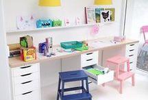 K I D S . D E S K S . W O R K . S P A C E S / kids desks, work space, work area, homework space, children's desks, craft spaces, art area, task spaces, kid desks, toddler tables