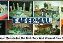 papermau.blogspot.com / Free Original And Exclusive Paper Models And The Best, Rare And Unusual Free Papercrafts Of All The World! / by Mauther Papermau