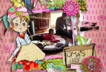 my layouts  'Berna Datema designs' / by Corrie van Aart