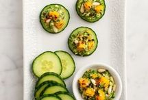 [ Nom Nom ] Starters and Snacks / Appetizers and starters that look yummy to me. / by Jennifer Walker