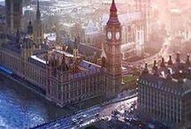 London / Lifelong dream to move to London.  / by Sarah Blodgett