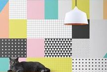 Wallpapers / What better way to embrace a print than to paste it on your walls?!