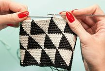 for crochet ideas / : crochet stitches : blanket inspiration : colour ideas : the next project : / by Heather Young
