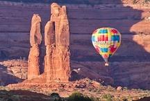 Hot Air Balloon in Moab