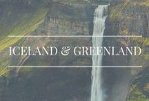 Iceland & Greenland / Travels to Iceland and Greenland.