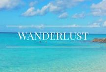 Wanderlust / Travel, travel blogging, and constant wanderlust.